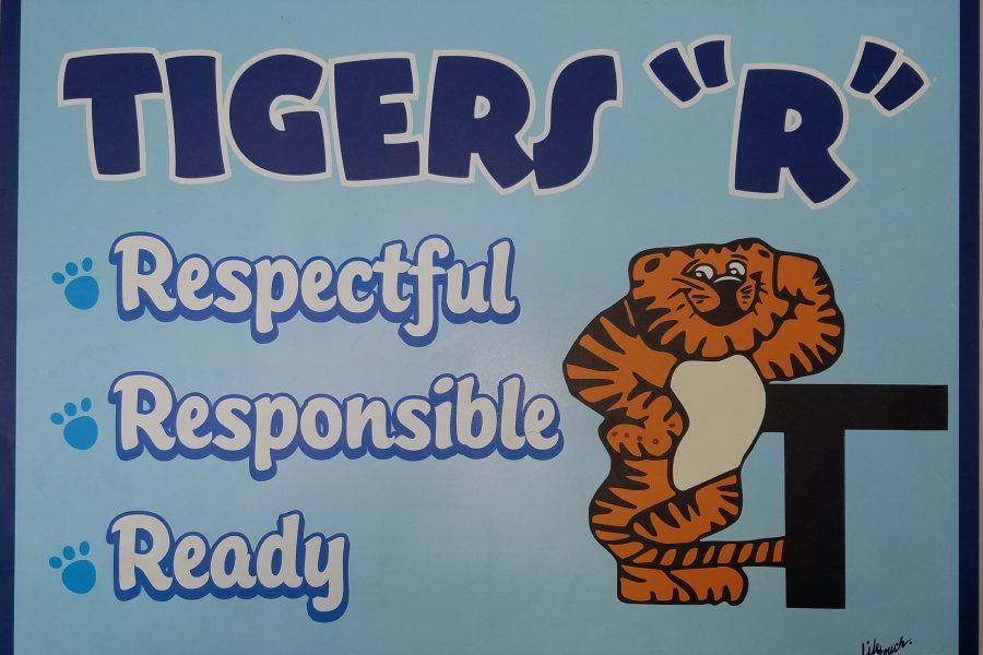 """Tigers """"R"""" Respectful, Responsible, & Ready"""